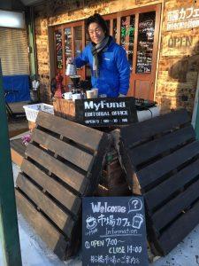 市場カフェ 山崎さん