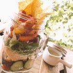【新メニュー】市場カフェの新メニュー「ジャーサラダ」って、もう食べました!?