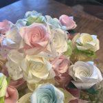 【ワークショップ】折るごとに心が整うバラ折り教室