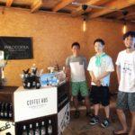 船橋珈琲タウン化計画のリーダーで市場カフェのコーヒー先生が葉山の海の家に出店