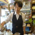 おじさん珈琲の講師に市場カフェマスターの師匠「喫茶いずみ」の伊藤拓史さんが登場