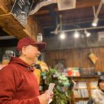 市場カフェで「地域に入るための第一歩、趣味を60歳以降の生きがいにするために講座」開催